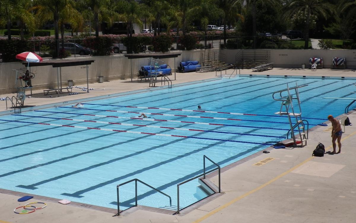 team burbank swimming